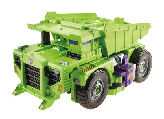 Constructison Long Haul Vehicle