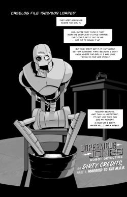 Copernicus Jones Robot Detective 1