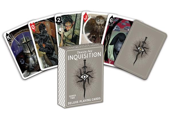 Dragon Age Inquisition Deluxe Playing Cards - Series Two - Convention Exclusive
