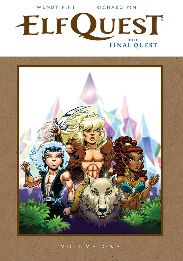 Elfquest The Final Quest Hardcover - Convention Exclusive