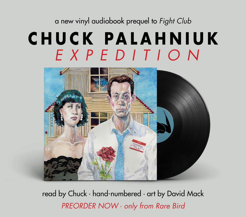 sdcc a vinyl audiobook of the fight club prequel story expedition