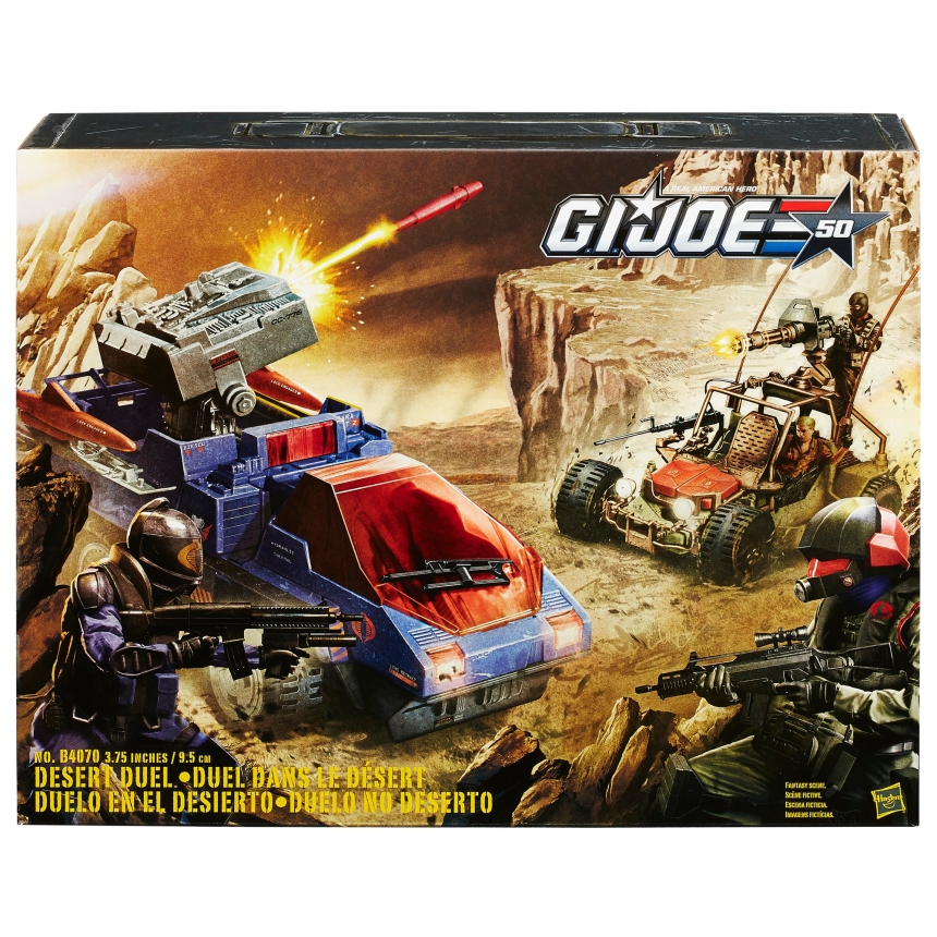 G.I. JOE DESERT DUEL (in package)