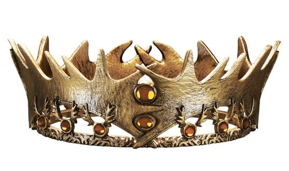 Games of Thrones Robert Baratheon Crown - SDCC Exclusive Mini Replica