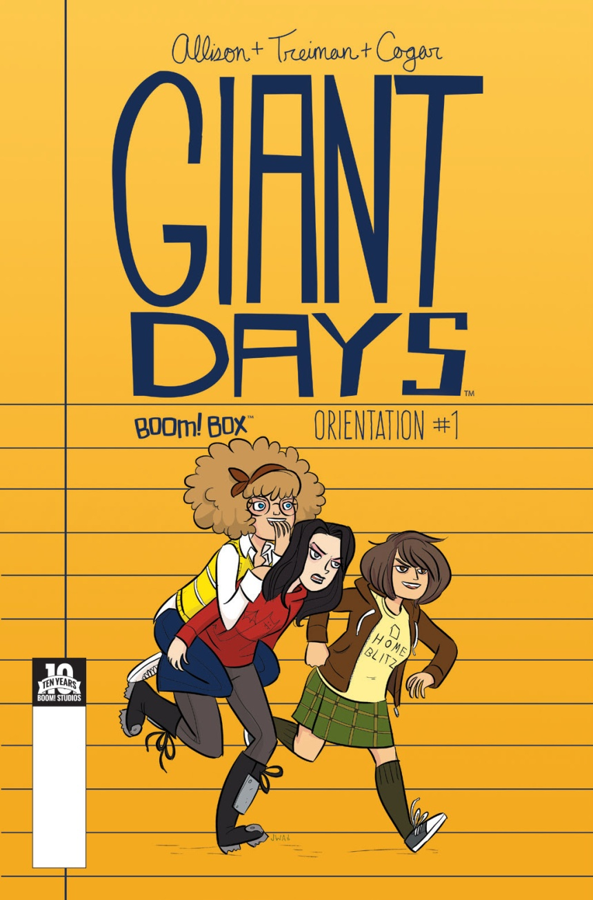 Giant Days Orientation Edition Cover by John Allison