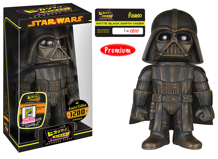 Hikari Star Wars - Darth Vader Matte Black