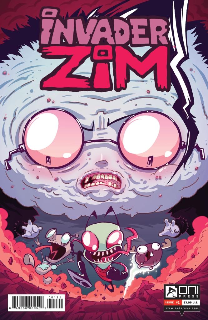 INVADERZIM #1 COVER JHONEN INCENTIVE NEW LOGO