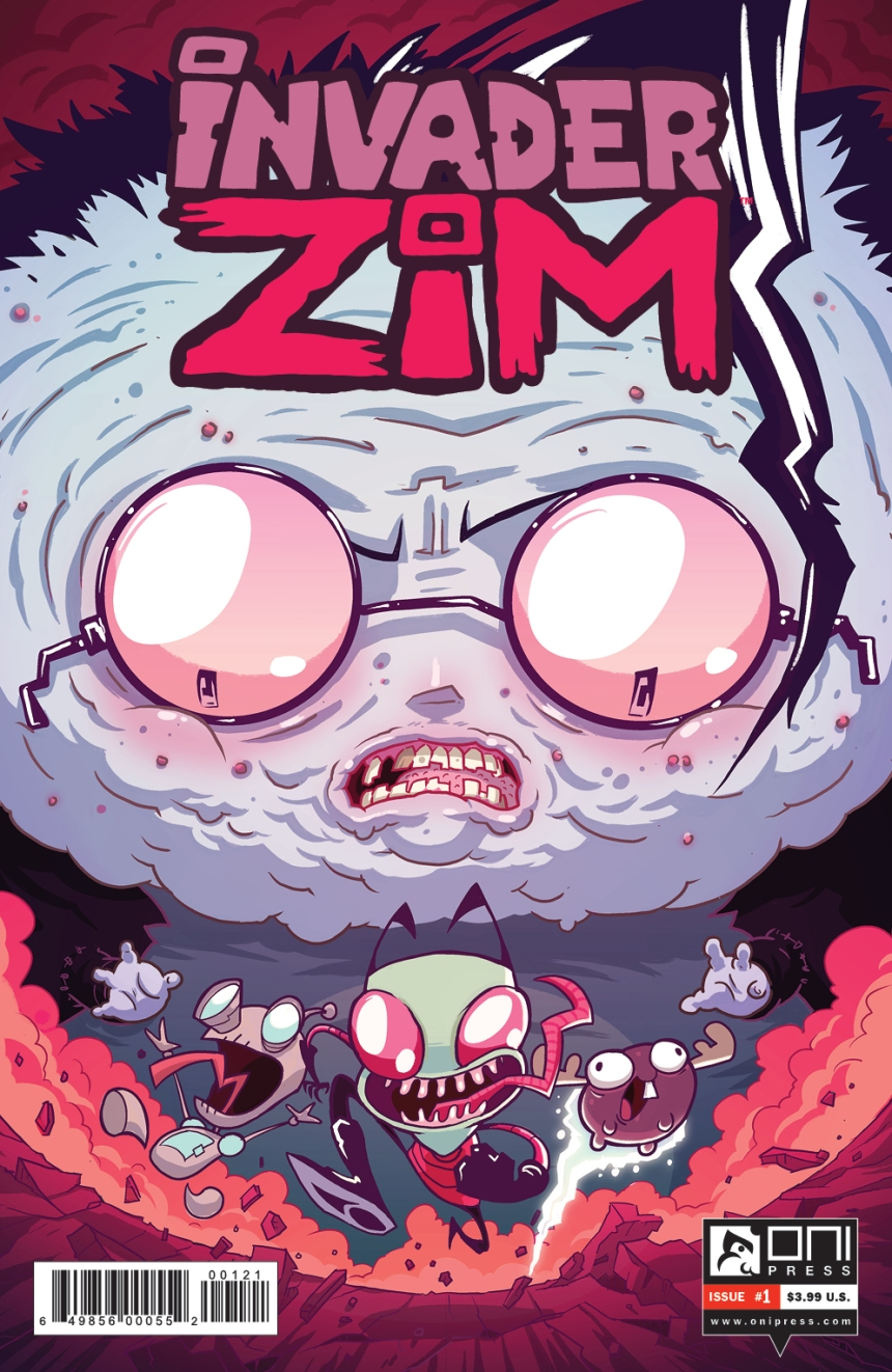 INVADERZIM #1 COVER JHONEN INCENTIVE NEW LOGO