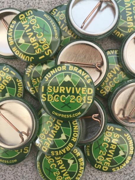 Junior Braves Badge Pins