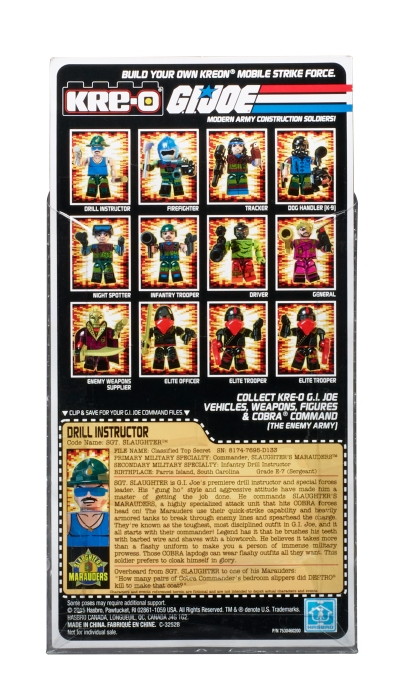 KRE-O_SDCC G.I. JOE_VHS_3Pack 20