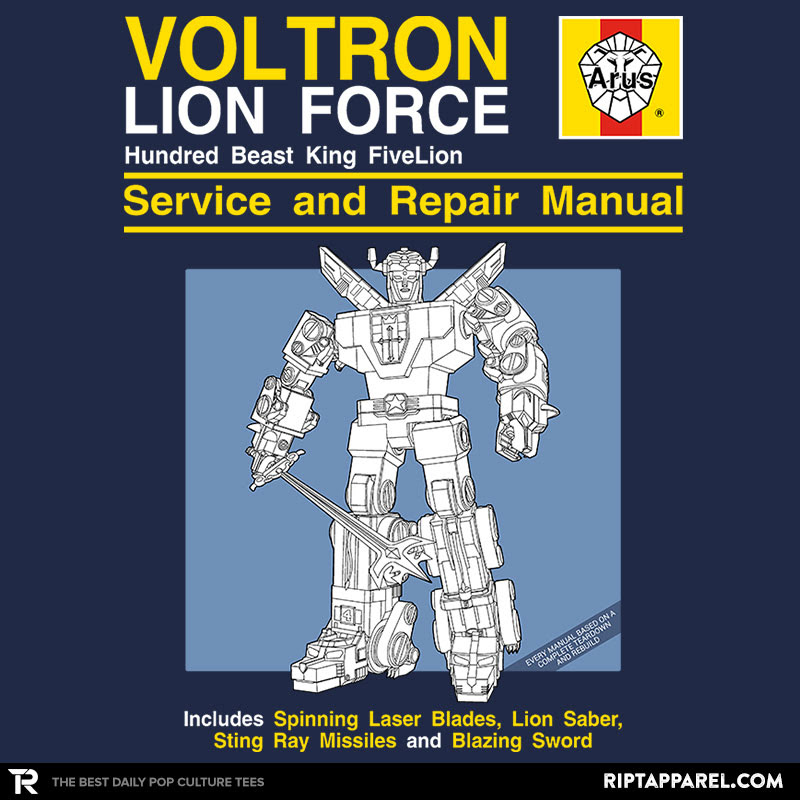 Lion Force Service and Repair Manual