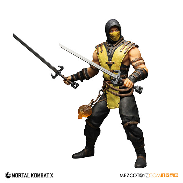 Mezco Presents Mortal Kombat X 12inch Scorpion Figure