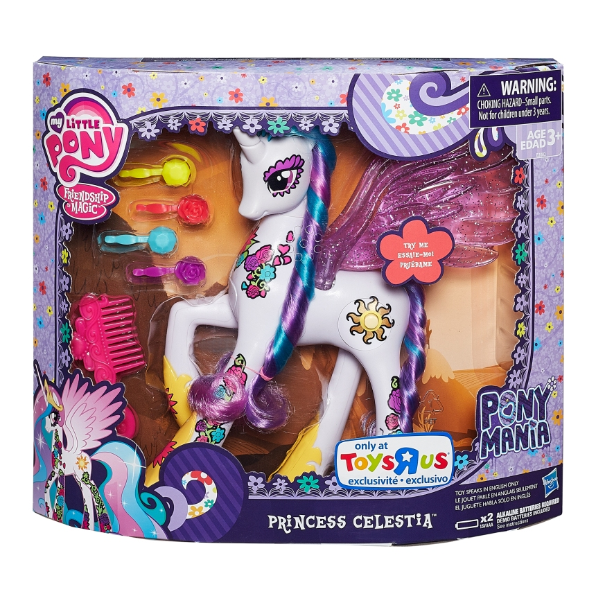 MLP PRINCESS CELESTIA (in package)