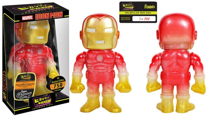 Molecular Iron Man Premium Sofubi Figure
