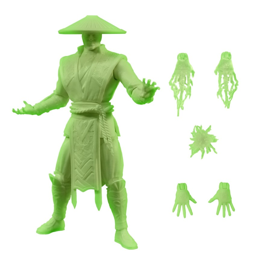 Mortal Combat X Glow-in-the Dark Raiden