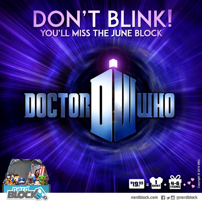Nerd Block Doctor Who