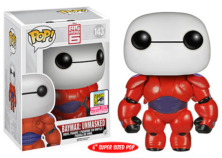 Pop! Disney Big Hero 6 6 Baymax Unmasked