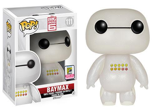 Pop! Disney Big Hero 6 - Transluscent Glitter Emoticon Baymax
