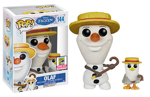 Pop! Disney Frozen - Barbershop Quartet Olaf
