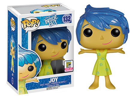 Pop! Disney Pixar Inside Out - Sparkle Hair Joy
