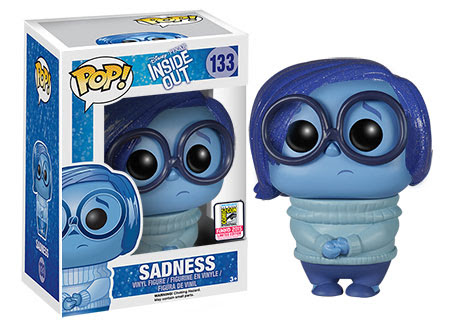 Pop! Disney Pixar Inside Out Sparkle Hair Sadness