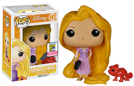 Pop! Disney Tangled - Frying Pan Rapunzel and Burnt Pascal