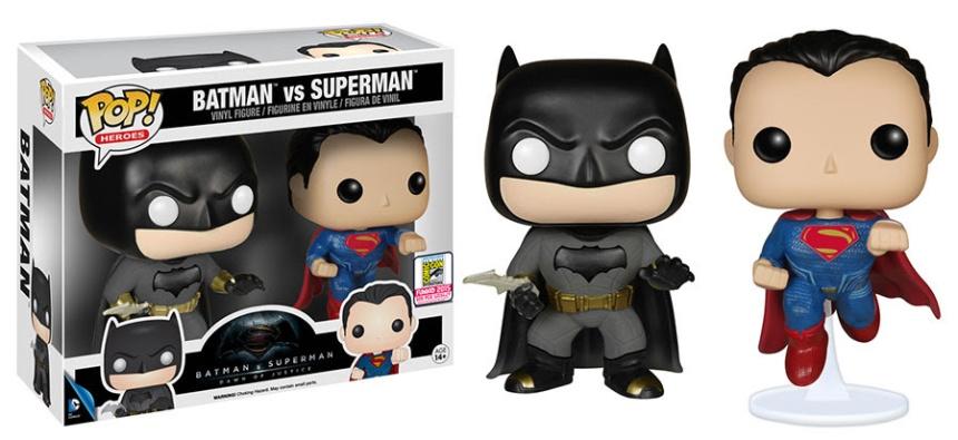 Pop! Heroes Batman v Superman - Batman v Superman 2-pack
