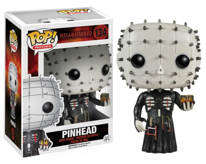 Pop! Movies Hellraiser Pinhead