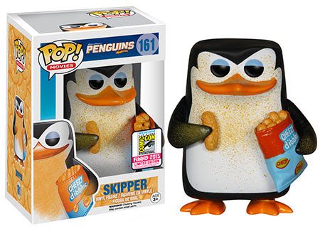 Pop! Movies Penguins of Madagascar - Cheesy Skipper