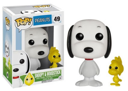 Pop! Peanuts Snoopy and Woodstock