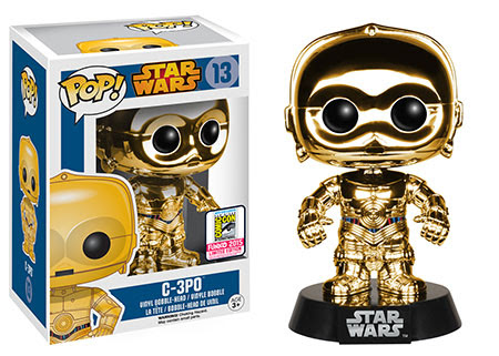 Pop! Star Wars Chrome C-3PO Gold