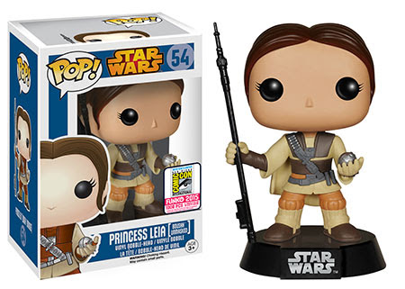 Pop! Star Wars Princess Leia [Boushh Unmasked]