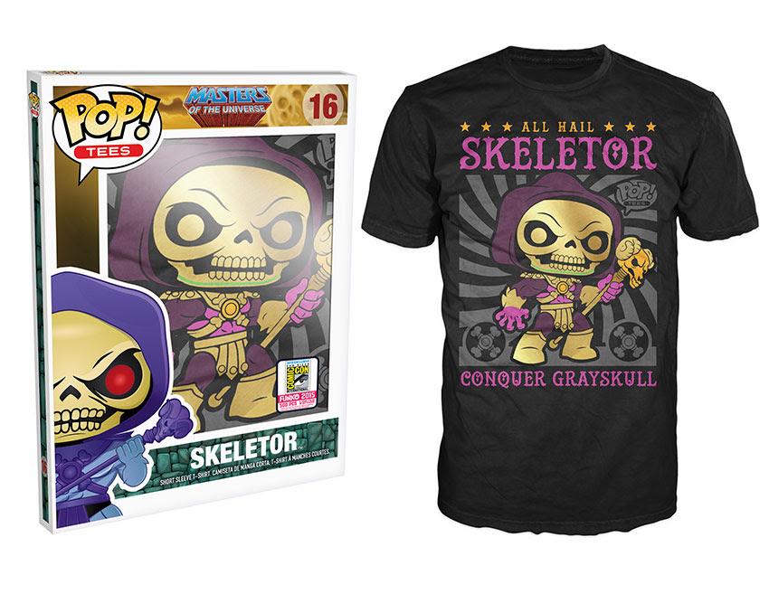 Pop! Tees Masters of the Universe - Disco Skeletor