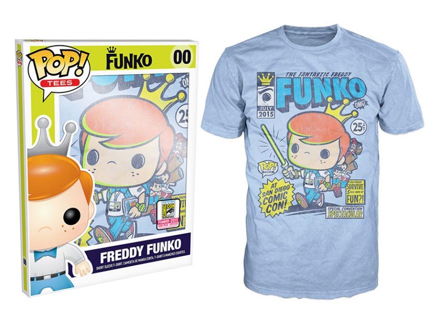 Pop! Tees SDCC Freddy Funko