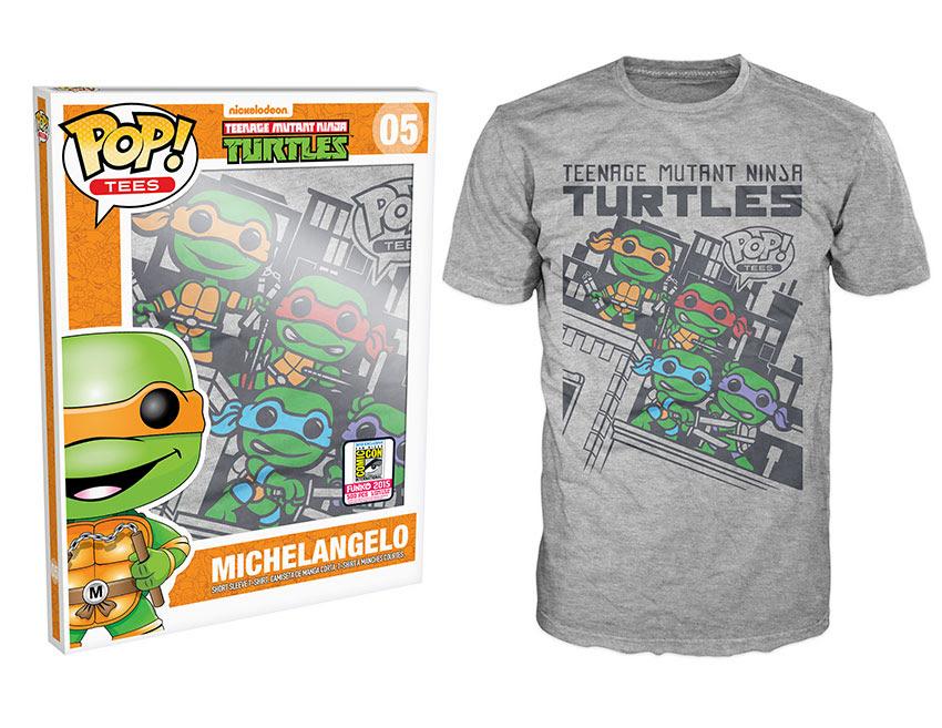 Pop! Tees Teenage Mutant Ninja Turtles - Skyline Group