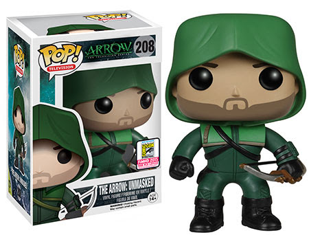 Pop! TV Arrow - The Arrow Unmasked