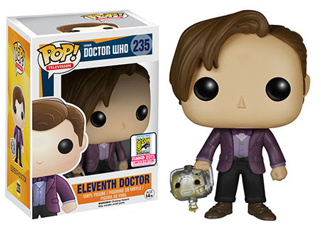 Pop! TV Doctor Who - Eleventh Doctor holding Cyberman Head