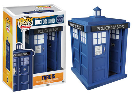Pop! TV Doctor Who Tardis