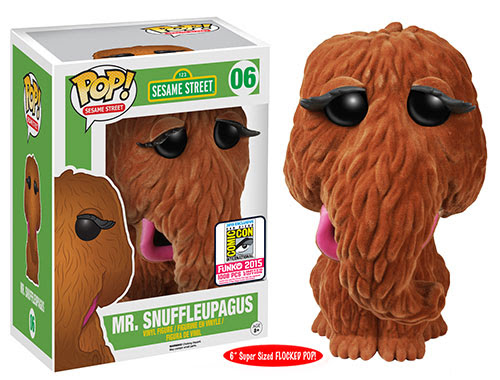 Pop! TV Sesame Street - 6 Flocked Mr. Snuffleupagus