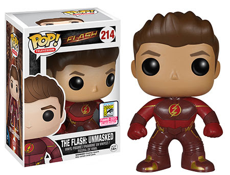 Pop! TV The Flash - The Flash Unmasked