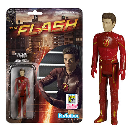 ReAction The Flash - The Flash Unmasked