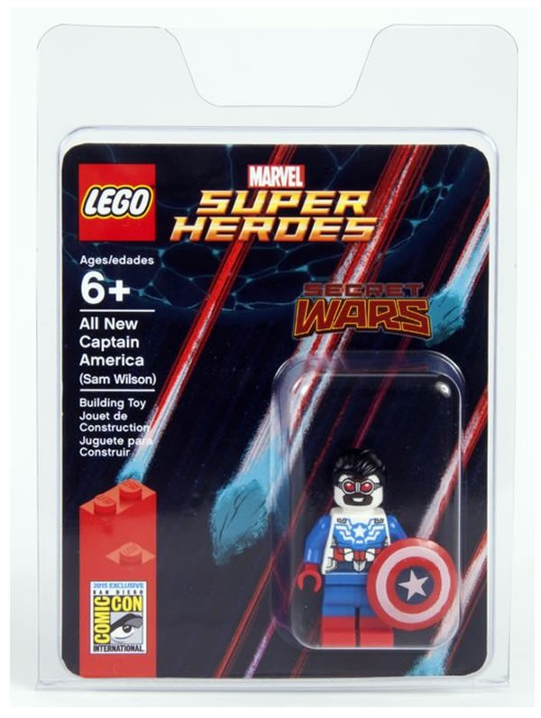 SDCC Lego Captain America Sam Wilson 1