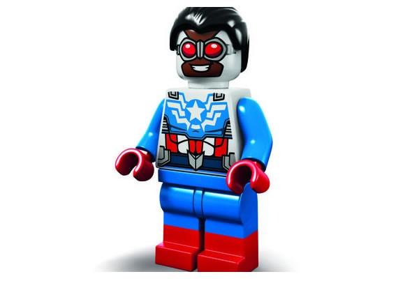 SDCC Lego Captain America Sam Wilson 2