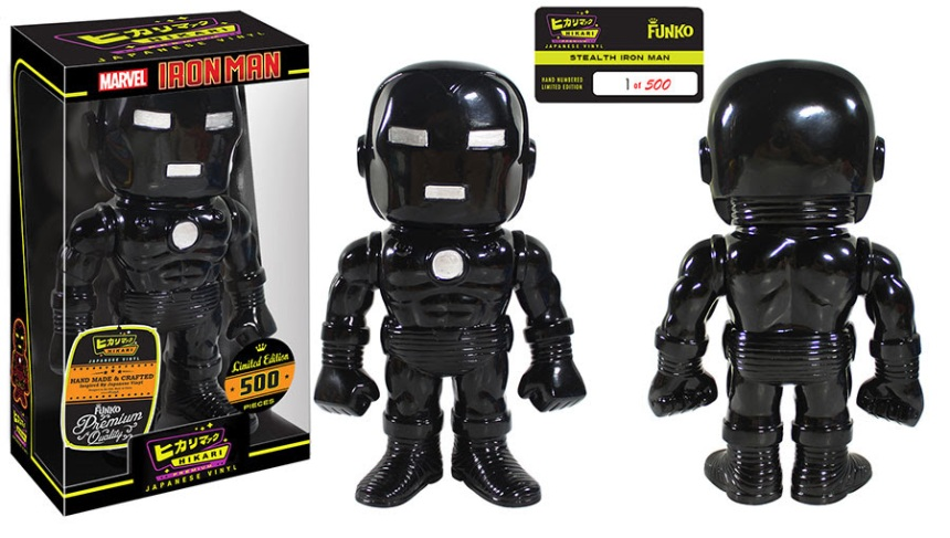 Stealth Iron Man Premium Sofubi Figure
