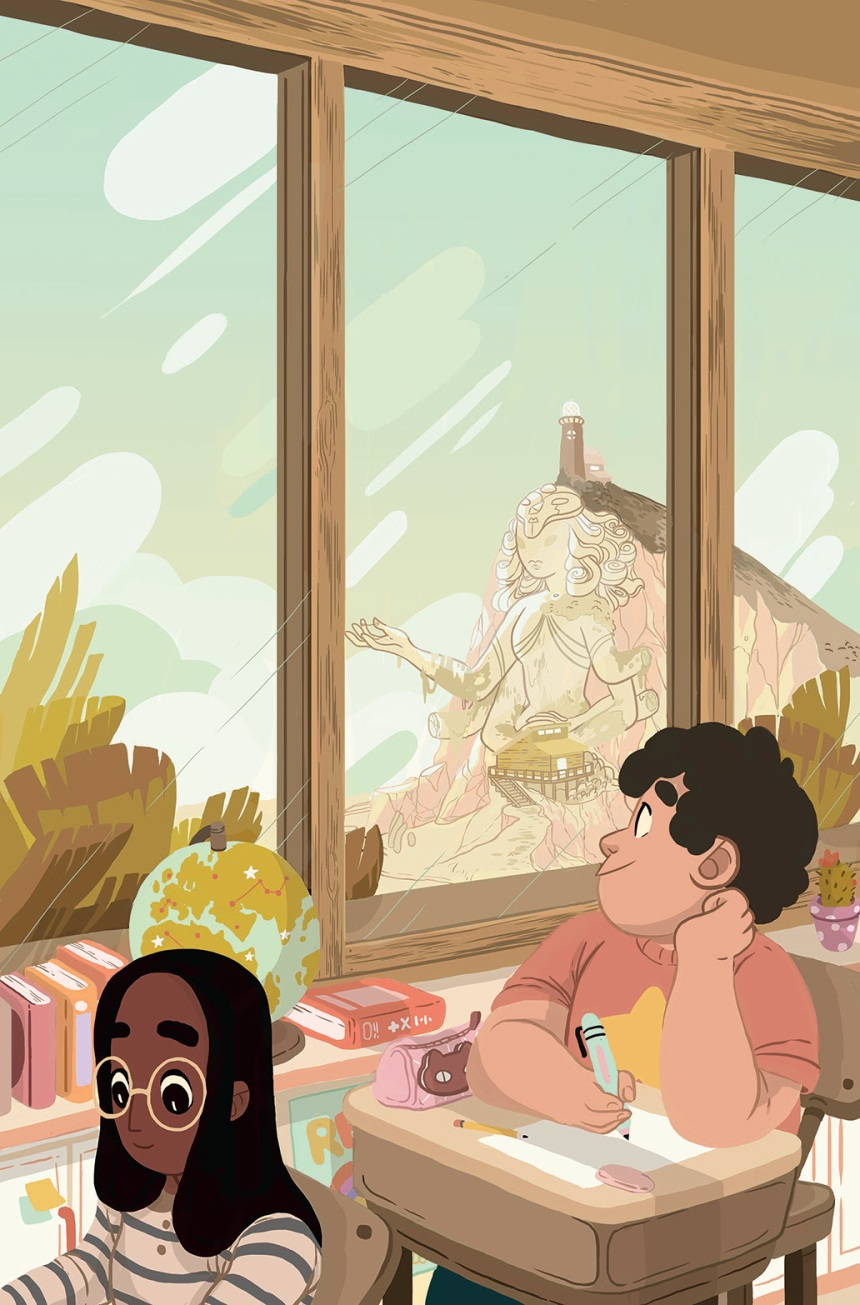 Steven Universe Too Cool for School Original Graphic Novel Cover