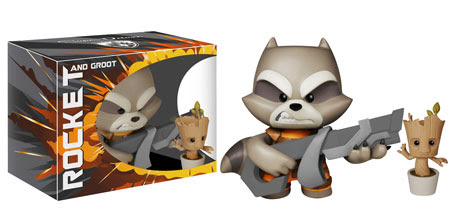 Vinyl Sugar Super Deluxe Guardians of the Galaxy Rocket and Groot