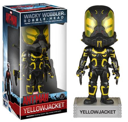 Wacky Wobbler Marvel Yellowjacket