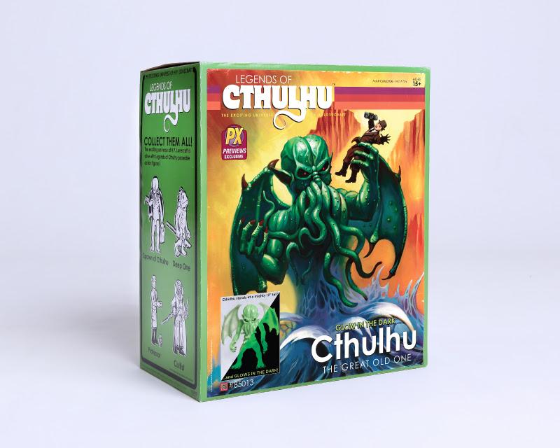 Warpo Announces Glow in the Dark, 12 Cthulhu