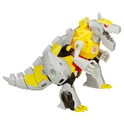 Warrior Gold Armor Grimlock Dino