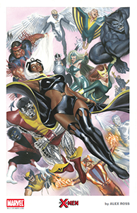 AlexRoss-SDCC 2015 Litho2 XMEN