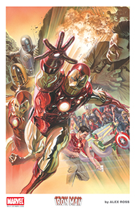 AlexRoss-SDCC 2015 Litho5 IRON MAN